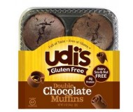 Udi's Gluten Free Double Chocolate Muffins