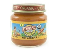 Earth's Best Baby Food Jar, First Carrots