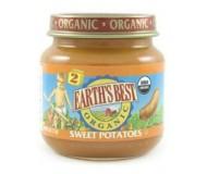Earth's Best Baby Food Jar, Strained Sweet Potatoes