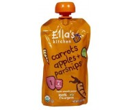 Ella's Kitchen Organic Baby Food - Carrots, Apples & Parsnips, 3.5 Oz (6 Pouches)