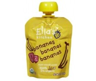 Ella's Kitchen Organic Baby Food - Bananas, Bananas, Bananas, 2.5 Oz (6 Pouches)