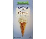Gluten Free Sugar Cocoa Cones