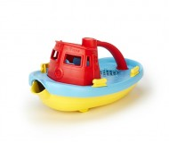 Green Toys Tug Boat - Red