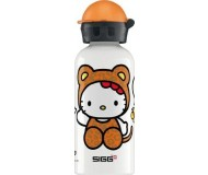 Sigg Water Bottle, White Hello Kitty Leopard, .4 Liters