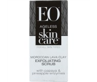 EO® Ageless Skin Care Moroccan Lava Clay Exfoliating Scrub, 1.5 Oz