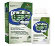 Genceutic Naturals pTeroBlue Pterostilbene, 100 mg (60 Vcaps)