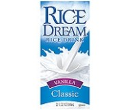 Rice Dream Classic, Vanilla, 32 Oz