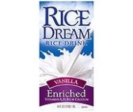 Rice Dream Enriched, Vanilla, 64 Oz