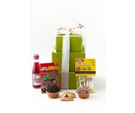 GFP Specialty Gift Box, Gourmet Purim Tower