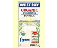 Westsoy Unsweetened Soymilk, Plain