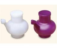 Wai Lana, Yoga Props & Tools, Purple Durable Plastic Neti Pot (Including Lid)