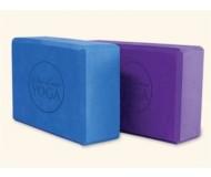 "Wai Lana, Yoga Props & Tools, 4"" Blue Foam Yoga Block"