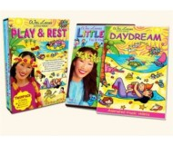 Wai Lana Little Yogis, Play & Rest DVD Twin Pack