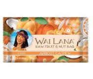 Wai Lana Raw Fruit & Nut Bar, Apricot Cashew