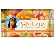 Wai Lana Raw Fruit & Nut Bar, Tropical Macadamia
