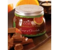 Wai Lana Yogaroma, Exfoliating Body Scrub, Orange & Chocolate