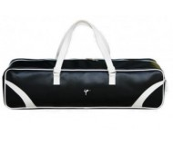 Wai Lana, Retro Yoga Mat Bag, Black & White