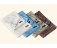 Wai Lana Green, Bamboo Towel Set (Bath, Hand, Wash) - Peony White