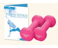 Wai Lana, Dumbbell Fusion Fitness Kit (Pink - 2 Lb Weight)