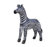 Jet Creations Inflatable Lifelike Life Size Replica Zebra, 88 Inches Tall