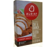 Aleia's Gluten Free Coat & Crunch, Crispy Spicy 4.5 Oz Box [Case of 8]