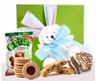 Buy gluten free gift tower baskets tin for baby shower at gluten free gift box negle Images