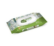 Seventh Generation Thick and Strong, Free and Clear Baby Wipes with Flip Top Dispenser, Travel Pack - 30 Count [Case of 12]