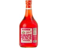 Kedem 100% Pure Kosher Blush Grape Juice, 50.7 oz [Case of 8]