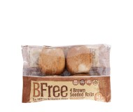 BFree Gluten Free Seeded Brown Rolls, 8.47 Oz [3 Pack]