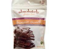 Absolutely Gluten Free Brittle Crunch Brownie, 4 ounce bag (6 packs)