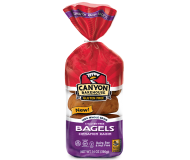 Canyon Bakehouse Gluten Free Cinnamon Raisin Bagels, 14 Ounce  (Case of 6)