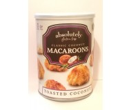 Absolutely Gluten Free Coconut Macaroons, 10 ounce can (6 pack)