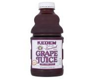 Kedem 100% Pure Kosher Concord Grape Juice, 32 oz [Case of 12]