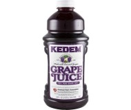 Kedem 100% Pure Kosher Concord Grape Juice, 64 oz [Case of 8]
