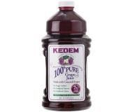 Kedem 100% Pure Kosher Concord Grape Juice, 96 oz [Case of 6]