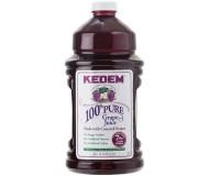 Kedem 100% Pure Kosher Concord Grape Juice, 96 oz [Case of 6]