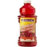 Kedem Cranberry Cocktail Juice, 64 oz [Case of 8]
