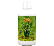 Dynamic Health Fruit Liquid Supplement, Aloe Vera Lemon Lime