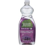 Seventh Generation Natural Dish Liquid, Lavender, 25 oz [Case of 12]