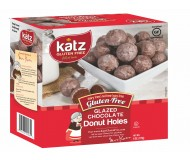 Katz Gluten Free Chocolate Glazed Donut Holes [Case of 6]