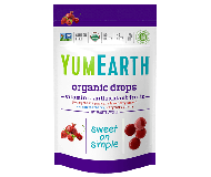 Yummy Earth Organic Candy Pouch, Vitamin C Anit-Oxifruits Drops