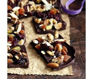 Dried Fruit Chocolate Bark