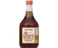 Kedem 100% Pure Kosher Gold Grape Juice, 50.7 oz [Case of 8]