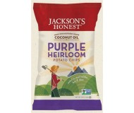 Jackson's Honest Purple Heirloom Potato Chips Made with Coconut Oil, 5 Oz (12 Pack)