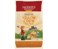 Jackson's Honest Organic Yellow Corn Tortilla Chips, 10 Oz (9 Pack)