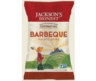 Jackson's Honest Organic Potato Chips Made with Coconut Oil, BBQ, 5 Oz (12 Pack)
