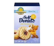Kinnikinnick Gluten Free Soft Donuts with Vanilla Icing [Case of 6]