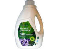 Seventh Generation Natural Laundry Detergent, Blue Eucalyptus & Lavender, 50 Oz
