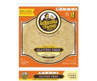 La Tortilla Factory Gluten Free Ancient Grain Ivory Teff Wraps, 6 per pack (Case of 10)