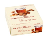 Think Thin High Protein Bars, Maple Almond, 2.1 oz [10 Pack]